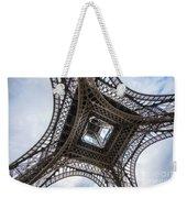 Abstract Eiffel Tower Looking Up 2 Weekender Tote Bag