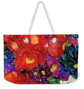 Abstract English Garden Weekender Tote Bag