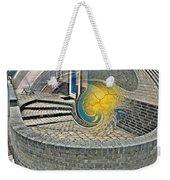 Abstract Entrada Twirl Break Weekender Tote Bag