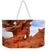 Abstract Erosion Weekender Tote Bag