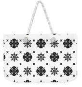 Abstract Ethnic Seamless Floral Pattern Design Weekender Tote Bag