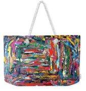 Abstract Expressionism Bvdschueren Weekender Tote Bag