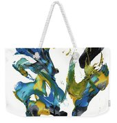 Abstract Expressionism Painting Series 716.102710 Weekender Tote Bag