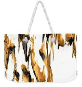 Abstract Expressionism Painting Series 734.102910 Weekender Tote Bag