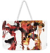 Abstract Expressionism Painting Series 744.102110 Weekender Tote Bag