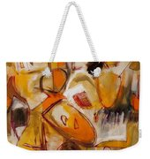 Abstract Expressionism Three Weekender Tote Bag