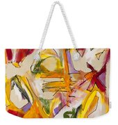 Abstract Expressionism Two Weekender Tote Bag