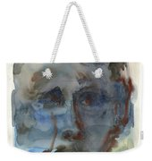 Abstract Face Weekender Tote Bag