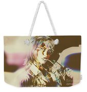 Abstract Fashion Pop Art Weekender Tote Bag