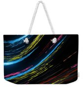 Abstract Fiber Weekender Tote Bag