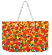 Abstract Field Weekender Tote Bag