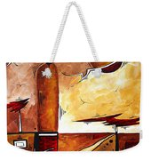 Abstract Figurative Art African Flame By Madart Weekender Tote Bag
