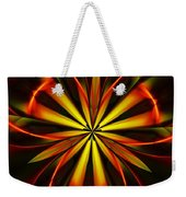 Abstract Floral 032811 Weekender Tote Bag