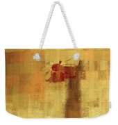 Abstract Floral - 14v2ft Weekender Tote Bag