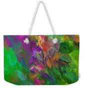Abstract Floral Fantasy 071912 Weekender Tote Bag