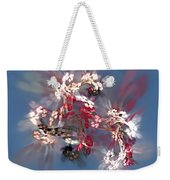 Abstract Floral Fantasy  Weekender Tote Bag