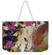 Abstract Floral Study Weekender Tote Bag