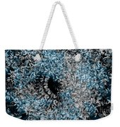 Abstract Floral Swirl No.2 Weekender Tote Bag