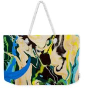 Abstract Flow Green-blue Series No.1 Weekender Tote Bag