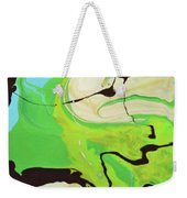 Abstract Flow Green-blue Series No.3 Weekender Tote Bag
