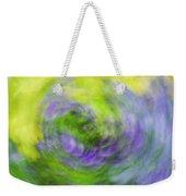 Abstract Flower-bed Weekender Tote Bag