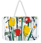 Abstract Flower Sixteen Weekender Tote Bag