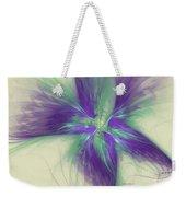 Abstract Flower Sway Weekender Tote Bag