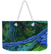 Abstract Fractal Landscape Weekender Tote Bag