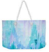 Abstract Frost 1 Weekender Tote Bag