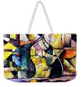 Abstract Fruit Still Life Weekender Tote Bag