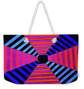 Abstract Fun Tunnel Weekender Tote Bag