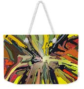 Abstract Garden Defined Weekender Tote Bag