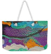 Abstract Garden Of Thoughts Weekender Tote Bag by Julia Apostolova