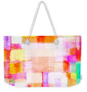 Abstract Geometric Colorful Pattern Weekender Tote Bag