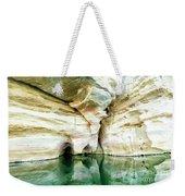 Abstract Gorge Weekender Tote Bag