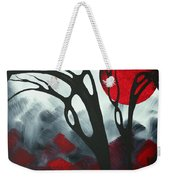 Abstract Gothic Art Original Landscape Painting Imagine I By Madart Weekender Tote Bag