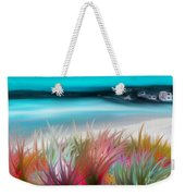 Abstract Grass Series 17 Weekender Tote Bag