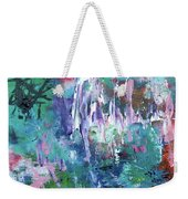Abstract Greens Weekender Tote Bag