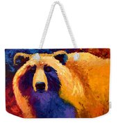 Abstract Grizz II Weekender Tote Bag