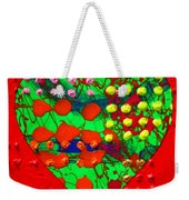 Abstract Haert 80218 Weekender Tote Bag