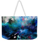Abstract Improvisation Weekender Tote Bag by Wolfgang Schweizer