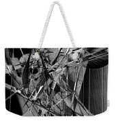 Abstract In Black And White 2 Weekender Tote Bag