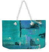 Abstract In Blue Weekender Tote Bag
