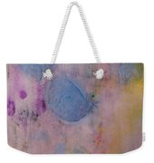 Abstract In Red, Blue, And Yellow Weekender Tote Bag