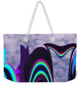 Abstract In The Clouds Weekender Tote Bag