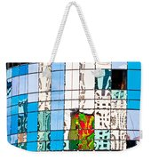 Abstract In The Windows Weekender Tote Bag