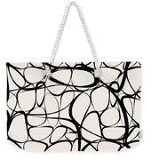 Abstract Interlacing Weekender Tote Bag
