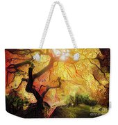 Abstract Japanese Maple Tree 2 Weekender Tote Bag