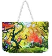 Abstract Japanese Maple Tree 5 Weekender Tote Bag