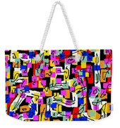 Abstract Laberinto 2 Weekender Tote Bag